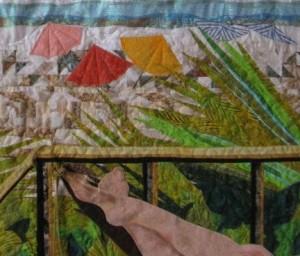 Galveston slient auction quilt for Salvation Army